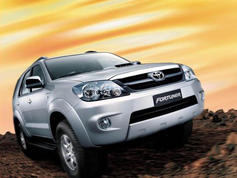 Отзывы о Toyota Fortuner (Тойота Фортунер)