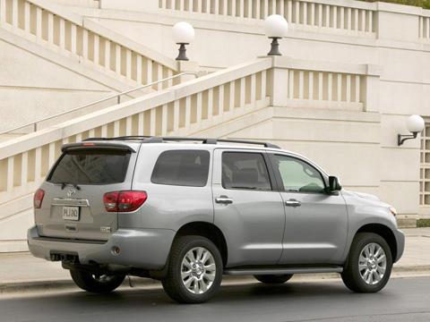 Отзывы о Toyota Sequoia (Тойота Секвойя)