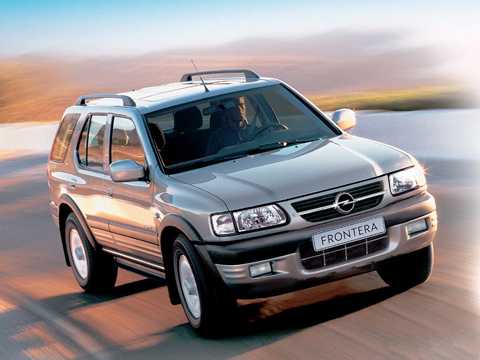 Отзывы об Opel Frontera (Опель Фронтера)