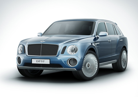 Отзывы о Bentley EXP 9F (Бентли EXP 9F)