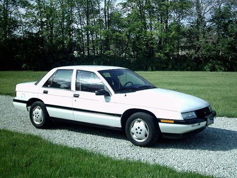 Отзывы о Chevrolet Corsica (Шевроле Корсика)