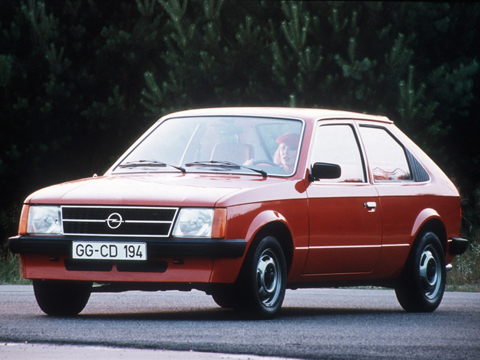 Pictures of the 1984 Opel Kadett.