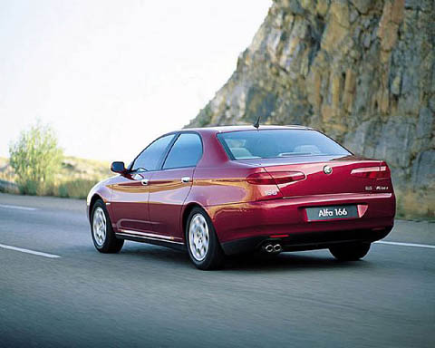 Отзывы о Alfa Romeo 166 (Альфа Ромео 166)