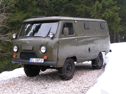 Отзывы о UAZ 425 (УАЗ 425)