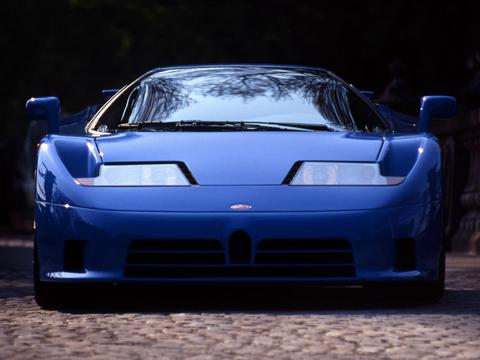 Отзывы о Bugatti EB110 (Бугатти ЕБ110)